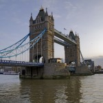 Tower Bridge, London, Januar 2012